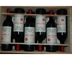 bouteilles de Petrus pomerole 1982