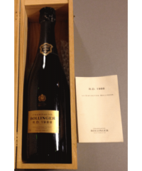 champagne Bollinger R. D 1988