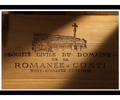 1 bouteille Romanée-Conti cuvée 2012