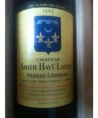 Chateau Smith Haut Lafitte 1986