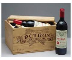 vend vins rouge petrus pomerol en caisse