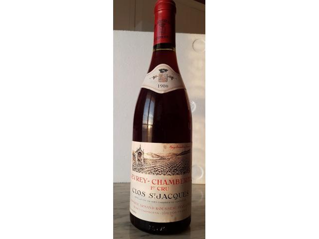 Bourgogne Cote de Nuits 1er cru 1980