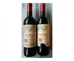 Deux bouteilles château Pétrus