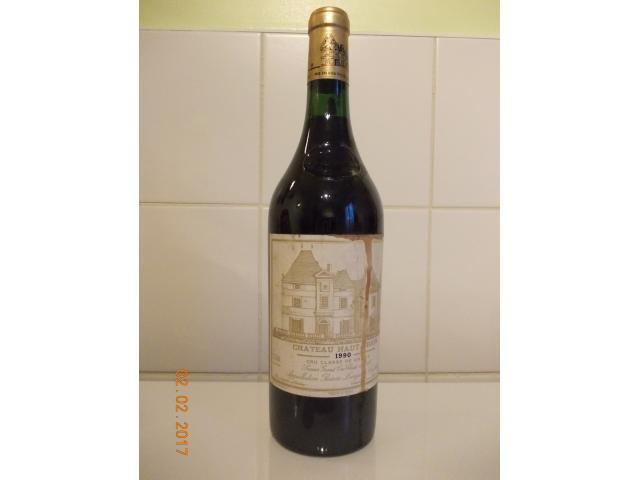 Vente bouteille Château Haut-Brion rouge 1990