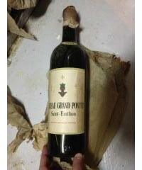 Chateau grand Pontet 1952 Saint Emilion