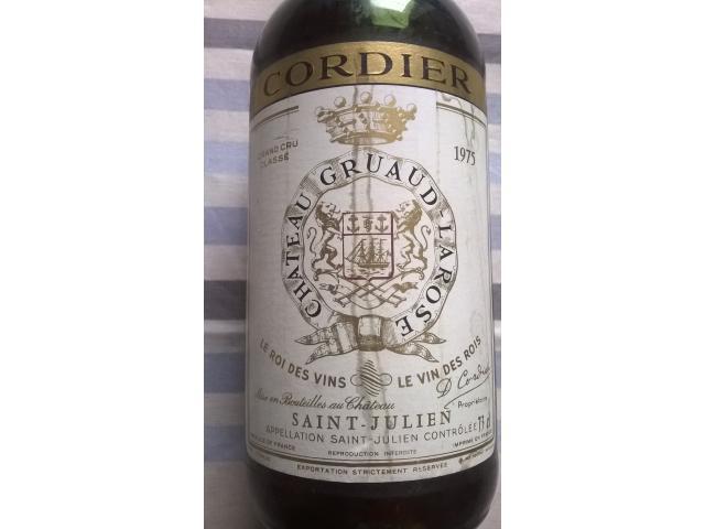 BORDEAUX Chateau GRUAUD-LAROSE CORDIER 1975