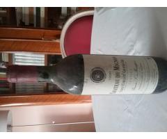 A vendre 10 bouteilles du CHATEAU MIGNON DU BARON DE MONTFORT de 1990