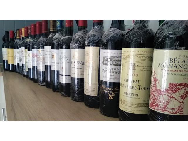 Lot de 17 bouteilles