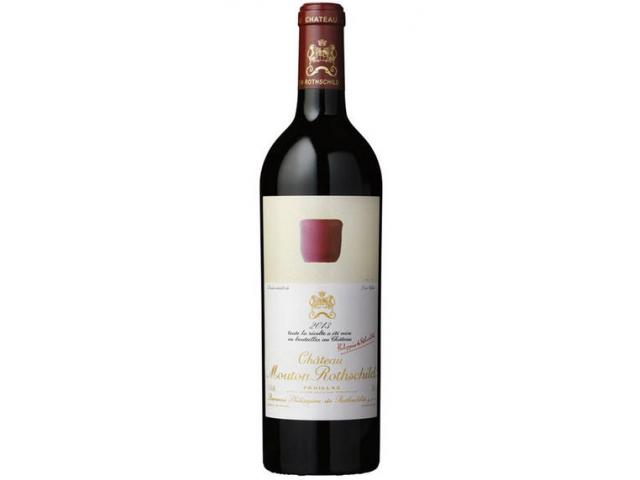 1 bouteille de Château Mouton Rothschild 2013
