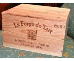 CAISSE de 6 bouteilles de VIN - MOREY SAINT DENIS - LA FORGE DE TART 2018