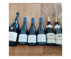 Lot vins uniques / salon / selosse / ente